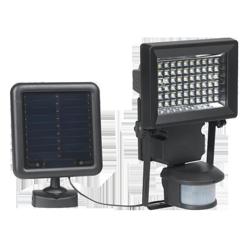 duracell solar led lampe med pir 400lm. Black Bedroom Furniture Sets. Home Design Ideas